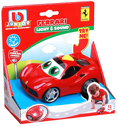 Bburago Maisto Frankreich-81000-Fahrzeug Funktion,-Junior Ferrari Sound und Lichter