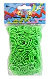 Rainbow Loom RL600 - Original Gummibänder Limettengrün, 600 Stück inklusive 24 C - Clips