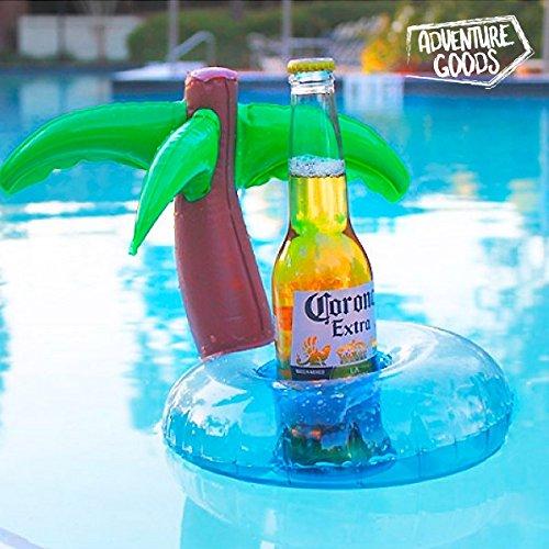 Aufblasbare Getränkehalter Palmen Pool Party