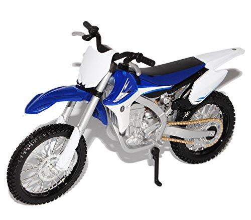 Maisto Yamaha YZ-450F Enduro Blau 1/12 Modell Motorrad Modell Auto