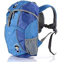 Franky Junior RS7 Pirat - Mochila infantil con diseño de pirata, color azul