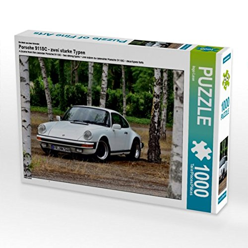 CALVENDO Puzzle Porsche 911SC - zwei starke Typen 1000 Teile Lege-Größe 64 x 48 cm Foto-Puzzle Bild von Ingo Laue (CALVENDO Mobilitaet)