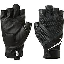 Nike Guantes de entrenamiento Renegade, Negro/Gris/Blanco, L, 9092