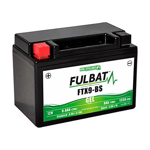 Fulbat - Gel Motorradbatterie YTX9-BS / FTX9-BS / WP9BS 12V 8Ah