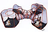 DYC Tienda de campaña portátil para Mascotas, Parque de Juegos para Perros, Gatos, Jaula para Casas, cercas, túnel Plegable, Juego de 5 Unidades