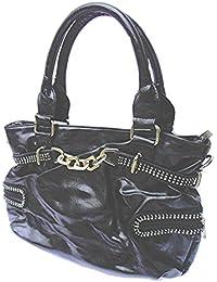 DIETZ Handtasche mit Strass 41x23x13cm