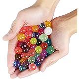 Goodlucky365 6500 Piezas Perlas de Agua Bolas de Agua de Gel 13 Paquetes, 10g / Paquete Para Manualidad Relleno de Florero Decoración de Boda y Muebles
