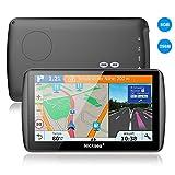 """Nicksea 7"""" Zoll GPS Navigationsgeräte LKW PKW Navi Navigation mit kostenlosen lebenslangen Kartenupdates CE 8GB 256MB Europa Traffic mit POI Blitzerwarnungen Fahrspurassistent Parkassistent"""