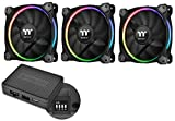 Thermaltake Riing 14 RGB mit Software 3er Set LED Gehäuselüfter