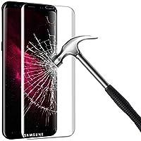 Verre Trempé Galaxy S8 Couverture Complète,BIGMEDA S8 Verre Trempé Ultra Définition Anti-scratch Protecteur D'écran pour Samsung Galaxy S8 Screen Protector