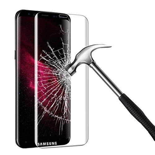 Bigmeda Protector de Pantalla Samsung Galaxy S8 Plus,Cristal Templado Vidrio Templado[Tacto Suave][9H Dureza][Alta Definicion]Screen Protector para Samsung Galaxy S8 Plus Protector de Pantalla