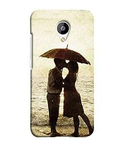 PrintVisa Designer Back Case Cover for Meizu M2 (lovely couple in romantic mood )