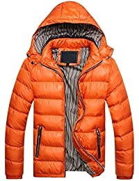 Steppjacke Herren Winter Warme Parka Mantel Jacke Jungen Verdickte Mit  Kapuze Outdoor Normallacks Mode Casual Übergang ac0c096e3e