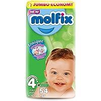Molfix Maxi Plus/Jumbo Economie Pack de 54 Couches 9-16 kg