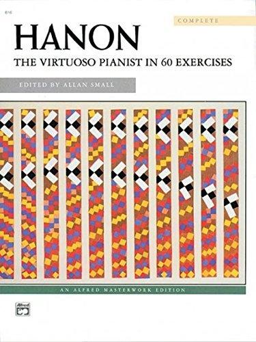 Hanon: The Virtuoso Pianist in 60 Exercises by Charles-Louis Hanon (1971-06-01)