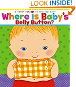 #3: Where Is Baby's Belly Button? (Karen Katz Lift-the-Flap Books)
