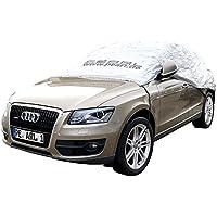 PEARL Faltgarage: Premium Auto-Halbgarage für SUV & Kastenwagen, 435 x 142 x 62 cm (Auto-Stoffgarage)