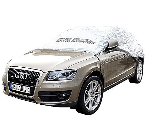 PEARL Auto-Abdeckungen: Premium Auto-Halbgarage für Kleinbus & Transporter, 470 x 140 x 65 cm (Eis- & Schnee-Schutzgaragen)