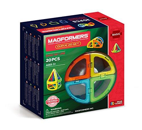 Magformers 701010 - Set de Construcción magnética con Piezas curvadas Especiales