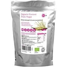 PINK SUN Azúcar de Coco Orgánico 1kg sin Refinar - Organic Coconut Palm Sugar