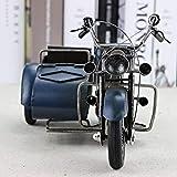 Lxc Schmuckdose Gelb, Blau, Grün Dreirädriges Motorrad-Modell Metall-Handwerk Geschenke...