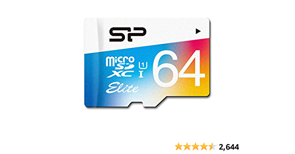 Silicon Power 64gb Up To 85mb S Microsdxc Uhs 1 Computers Accessories