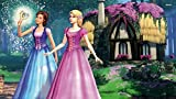 Movie Barbie & The Diamond Castle Barbie ON FINE ART PAPER HD QUALITY WALLPAPER POSTER On Hi Quality 36x24