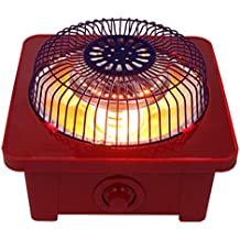 DCAH Calentador, calefacción infrarroja lejana Calentamiento rápido Calentador Ajustable Calentador de Seguridad silencioso para el