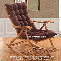 This Chair Pad is design in such a way that You can use it as a cushion for your kitchen/bar stool; office chair; wheelchair; car; sofa; or any other chair. You can also keep this chair cushion vertically on your chair and use it as a back re...