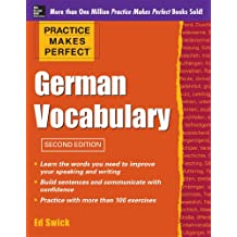 Practice Makes Perfect German Vocabulary (Practice Makes Perfect Series) (English Edition)