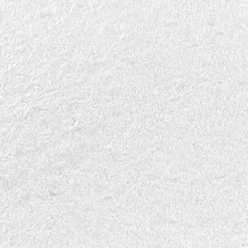 Baumwollputz Schneeweiß mit edlen Glanzfaserstücken - Flüssige Tapete für ca. 4m²