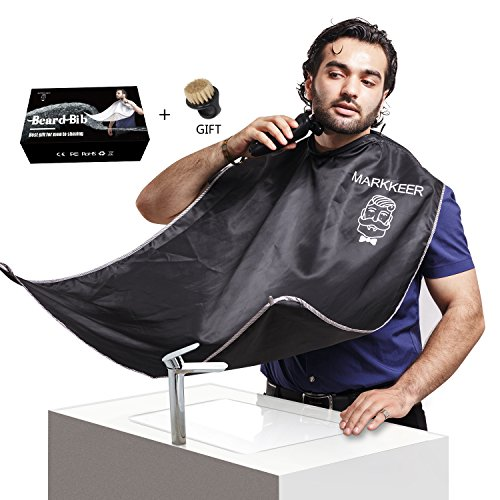 Hair Care & Styling Honey Compact Waterproof Beard Shave Apron Solid Color Men Household Bathroom Beard Trimming Apron Hair Shave Apron Styling Tools Styling Tools
