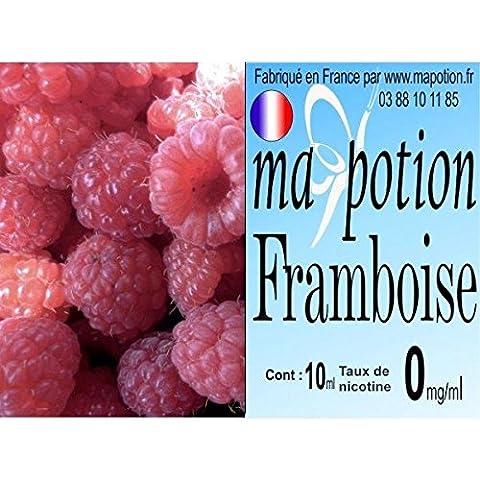 MA POTION - E-Liquide Fruit Framboise, Eliquide Français Ma Potion, recharge liquide pour cigarette électronique. Sans nicotine ni tabac