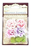 Little Birdie 8-Piece Mixed Media Flower Assortment, Soft Touch