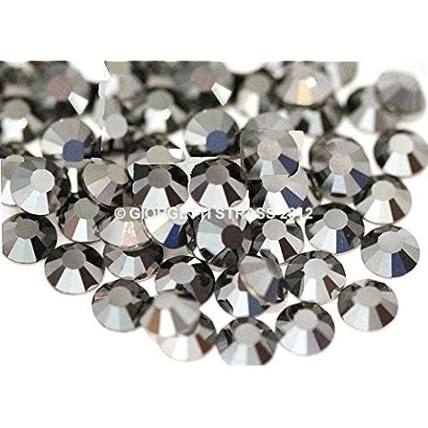 1000 STRASS MC stone collection SS16 (4mm) Hematite hot fix danza pattinaggio - Hot Fix Gioielli