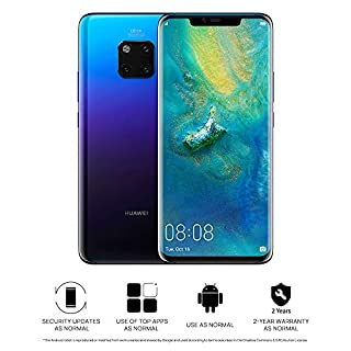 HUAWEI Mate 20 Pro 128 GB 6.39-Inch 2K FullView Android 9.0 SIM-Free Smartphone with New Leica Triple AI Camera, Single SIM, UK Version - Twilight (B07JVY21DL)   Amazon Products