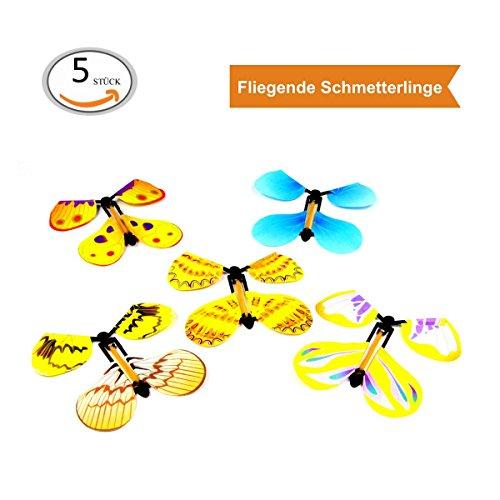 ZADAWERK Fliegender Schmetterling - Scherzartikel (5)