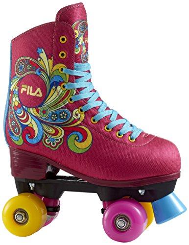 Fila Skates Bella Quads, Niñas, Rosa, 30