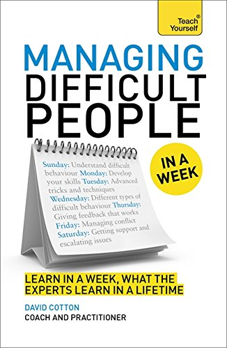 managing-difficult-people-in-a-week-book-teach-yourself-in-a-week