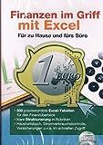 Finanzen im Griff mit Excel / F�r zu Hause und f�rs B�ro Bild