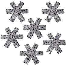 BESTONZON Protector de Olla y Sartén, separador antideslizante superior de las almohadillas divisoras Evitar arañazos