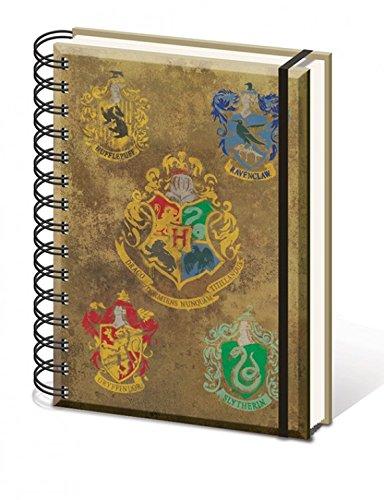 Harry Potter - Hogwarts, Blasón Bloc De Notas Libreta De Espiral (21