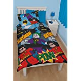 LEGO juego de cama de Batman para cama individual, Polialgodón