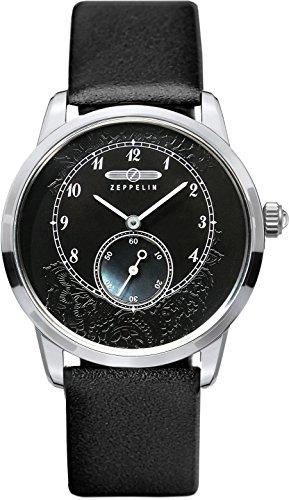 Zeppelin–7333–2Montre bracelet pour femme, bracelet en cuir