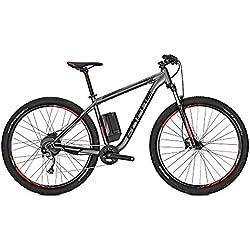 Focus Whistler² Hombre E-Bike S de bicicleta de montaña bicicleta eléctrica irongrey Mate 2018, tamaño RH 38 cm / 27 Zoll