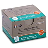 BD Individually Foil Wrapped Alcohol Swabs - 300 ea