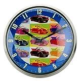 VW Käfer Volkswagen Pop Art Wanduhr mit Metallrahmen & Quarzuhrwerk Uhr #8140610009-bu