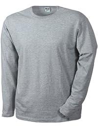 James & Nicholson - T-Shirt Manches Longues Homme