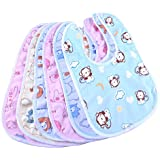 My Newborn Baby Fast Dry Bibs-Set of 6