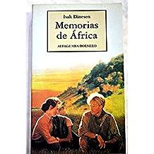Memorias de Africa - B - (Spanish Edition) by Barbara McShane (1994-05-02)
